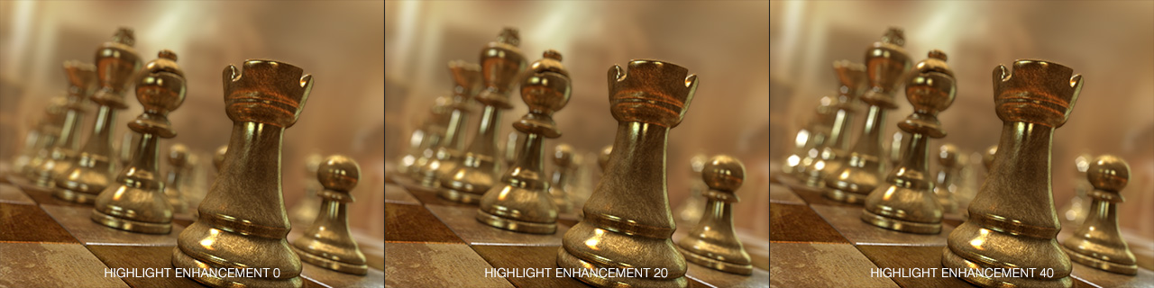 DOF PRO Highlight Enhancement