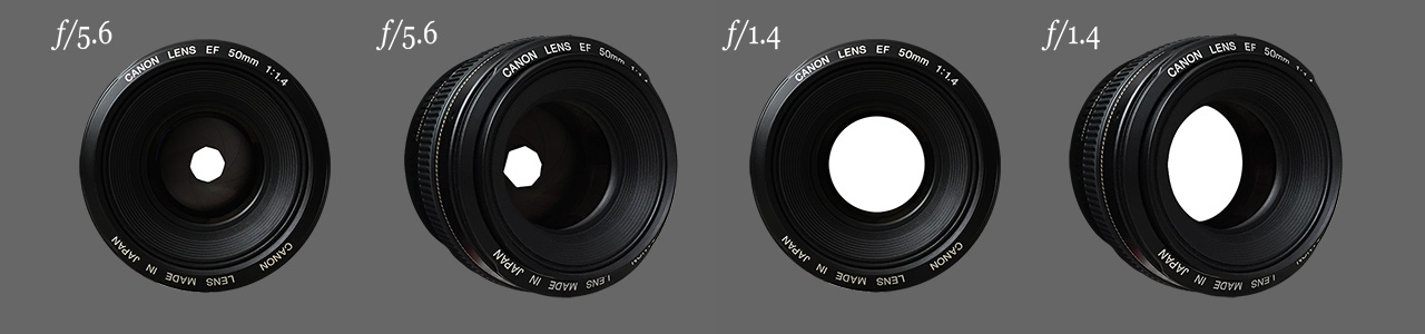 DOF PRO Optical Vignetting Aperture Example
