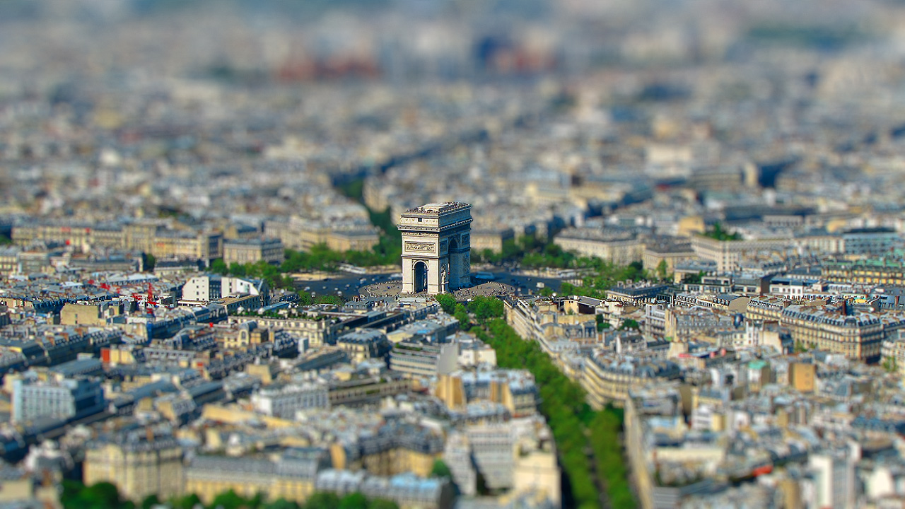 DOF PRO Paris Tilt-Shift
