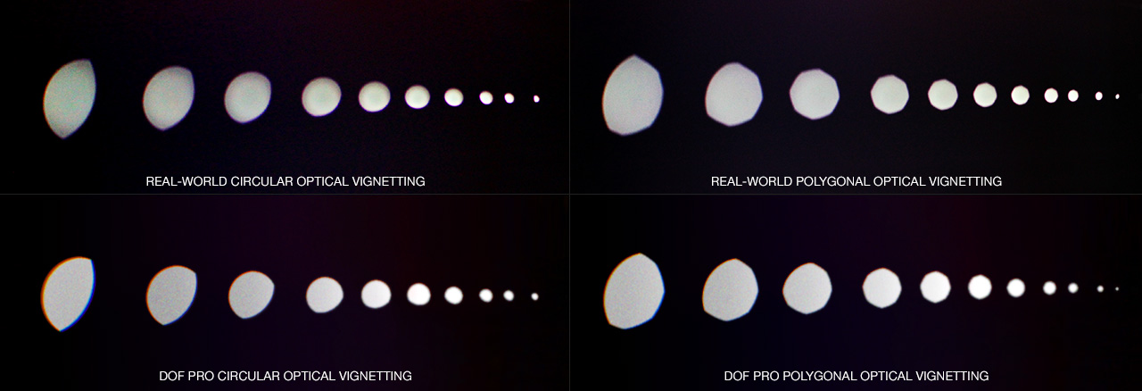 DOF PRO Polygonal Optical Vignetting