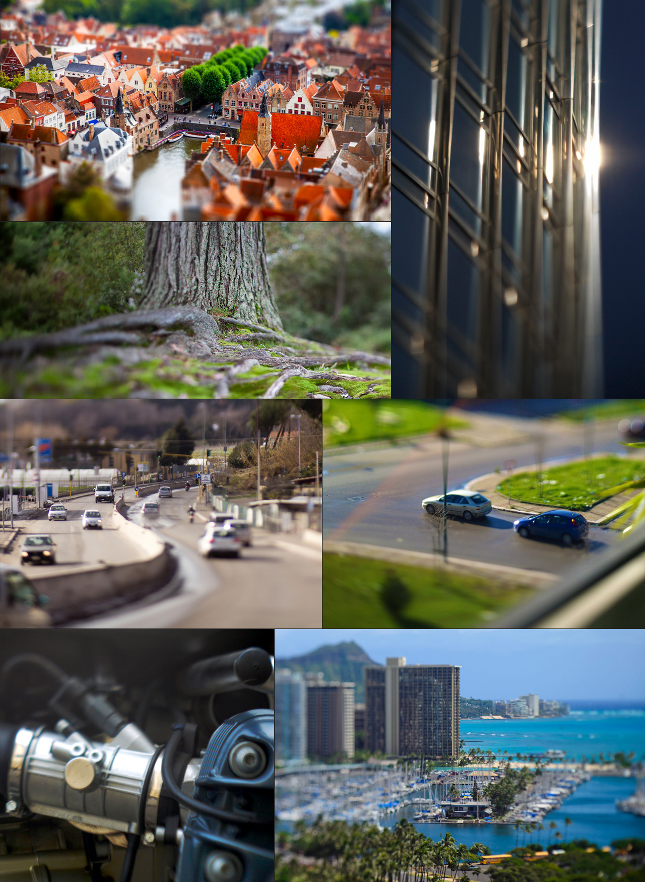 DOF PRO Real-world Tilt-Shift Examples
