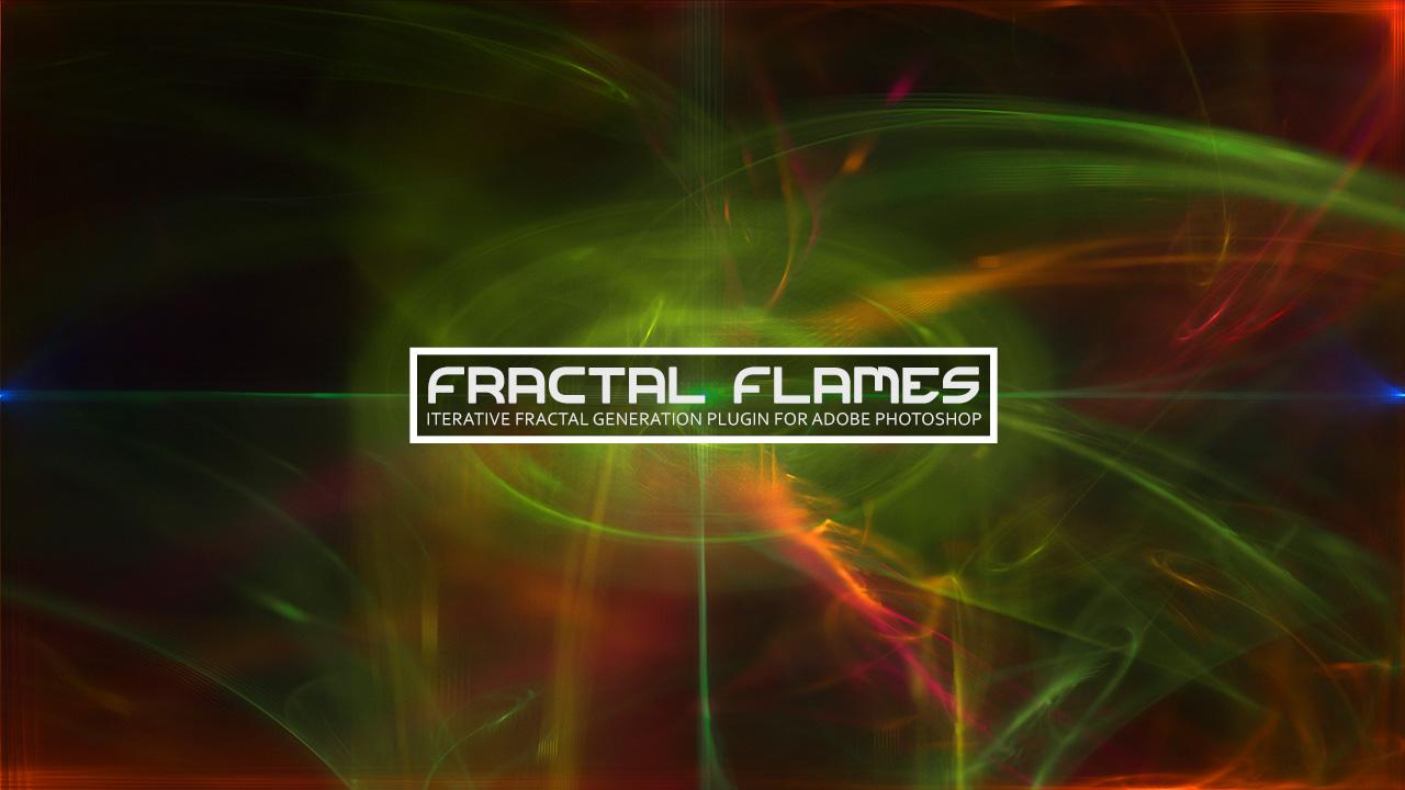 Fractal Flames - Iterative Fractal Generation Photoshop Plugin
