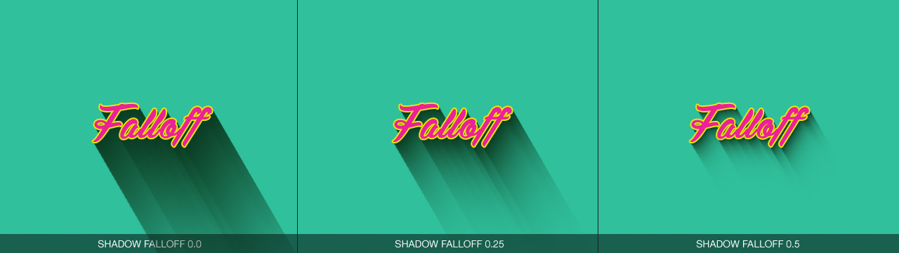 Long Shadow Falloff Gamma