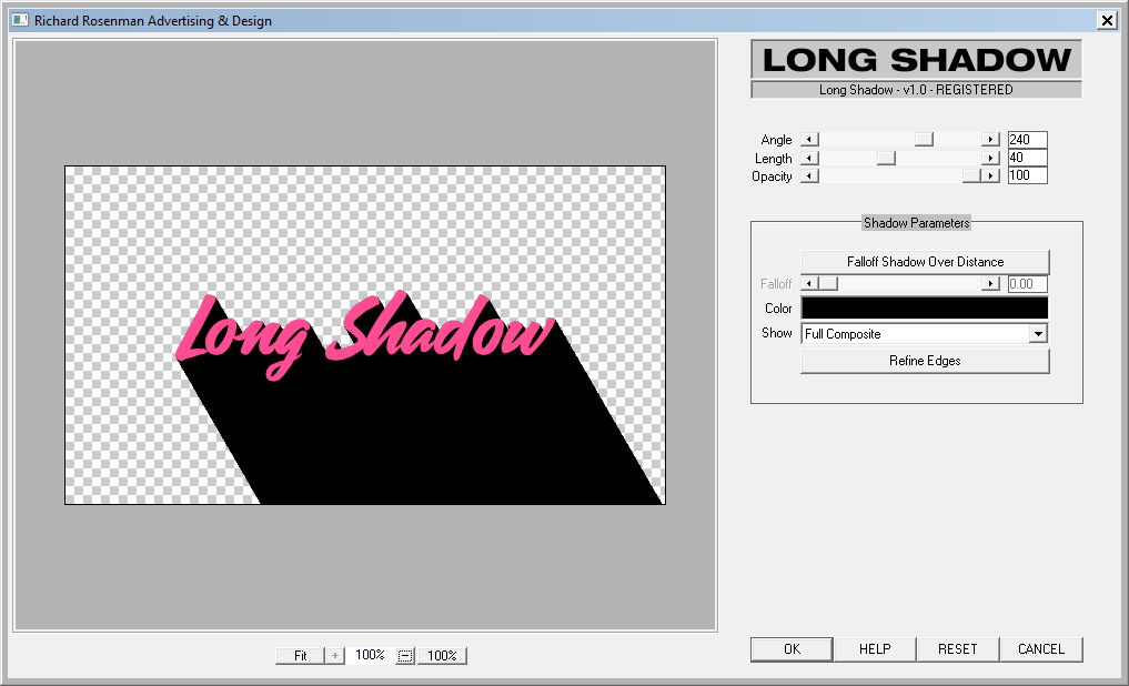 Long Shadow GUI