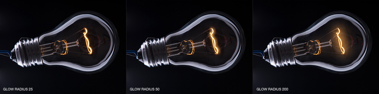 Lumiere Glow Radius