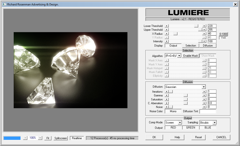 Lumiere Interface