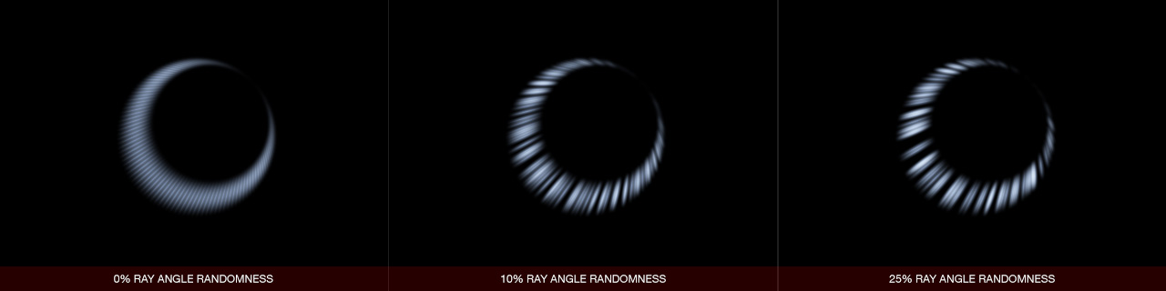 Ultraflares Hoop Object Ray Angle Randomness