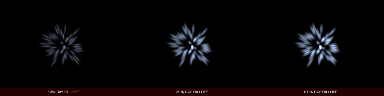 Ultraflares Sparkle Object Ray Falloff